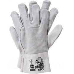 Rękawiczki ochronne wykonane ze skóry RBCS JS r. 10,5