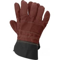Rękawice ochronne wykonane ze skóry RLCS CK r. 10