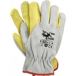 Rękawice ochronne skórzane TOPGEKON RLCS++ JSY r. 10