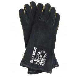 Rękawice skórzane RSPBIZINDIANEX B REIS r. 11 czarne