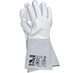 Rękawice spawalnicze ze skóry bydlęcej RSPL2XLUX WJS r. 11