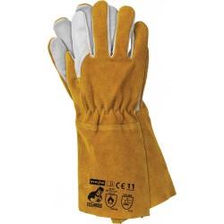 Rękawice spawalnicze skórzane YELLOWBEE WY r. 11