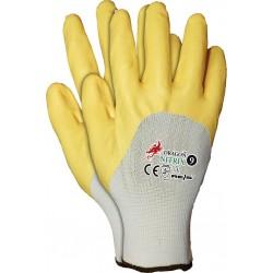Rękawice ochronne powlekane nitrylem REIS DRAGON NITRIX Y r. 7 - 11