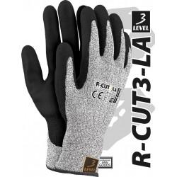 Rękawice ochronne przędza HDPE R-CUT3-LA BWB r. 7 - 11