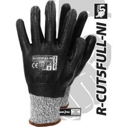 Rękawice ochronne REIS LEVEL5 R-CUT5FULL-NI BWB r. 8 - 11