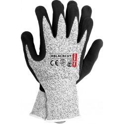 Rękawice ochronne powlekane nitrylem RBLACKCUT BWB r. 10
