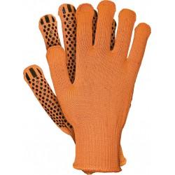 Rękawice ochronne z dzianiny REIS RDZFLAT PB w rozmiarze XL i XXL