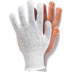 Rękawice ochronne z dzianiny REIS RDZN-FLEXIFLUO WP r. 10