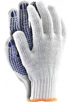 Rękawice ochronne z nakropieniem RDZN600 WN r. 8-10