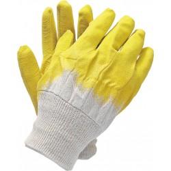Rękawice ochronne powlekane  gumą REIS RGS BEY r 10