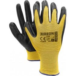 Rękawice ochronne nitryl REIS RIBBON YB r. 7 - 11
