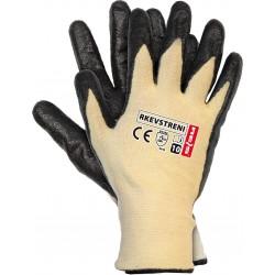Rękawice ochronne REIS RKEVSTRENI YB r. 10