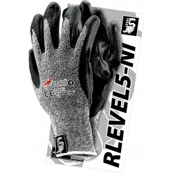 Rękawice ochronne REIS DRAGON RLEVEL5-NI BWB r. 7 - 10