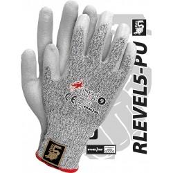 Rękawice ochronne REIS DRAGON RLEVEL5-PU BWS r. 7 - 10