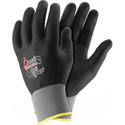 Rękawice ochronne powlekane nitrylem DRAGON REIS RNIFO-PLUS SB r. 7 - 10
