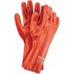 Rękawice ochronne z PCV RPCV35 C r.10.5 (35CM)