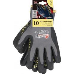 Rękawice ochronne połączenie lycry z nylonem REIS DRAGON RYELLOWBERRY-S SBY r. 7 - 10