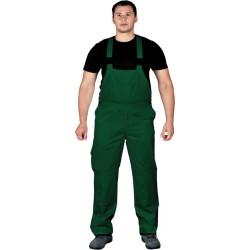 Spodnie ogrodniczki Leber Hollman LH-BISTER zielone r. 48 - 62
