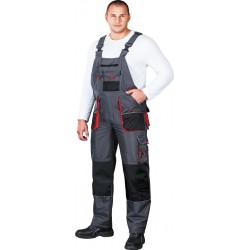 Spodnie ocieplane ogrodniczki Leber & Hollman tkanina rip-stop r. M - 3XL