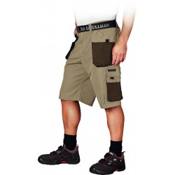 Spodnie ochronne do pasa krótkie Leber & Hollman Formen BE3 r. S - 3XL
