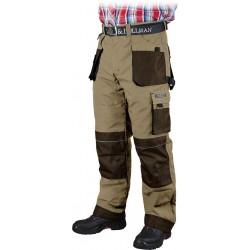 Spodnie ocieplane ochronne do pasa Leber & Hollman Formen BE3 r. M - 3XL