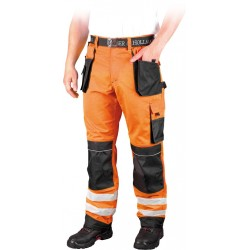 Spodnie do pasa Leber Hollman FORMEN LH-FMNX-T PSB pomarańczowe r. 46 - 62