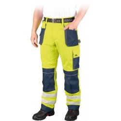 Spodnie ochronne do pasa Leber & Hollman LH-FMNX-T YGS r. 46 - 62