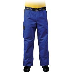 Spodnie ochronne bawełniane do pasa Leber & Hollman LH-HAMMER NS r. 48 - 62