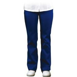 14466786 Spodnie damskie do pasa Leber Hollman LH-HCLS TRO niebieskie r. S-XXL