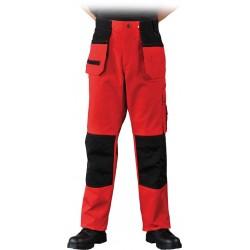 Spodnie ochronne do pasa Leber & Hollman LH-RONTER czerwone r. 48 - 62