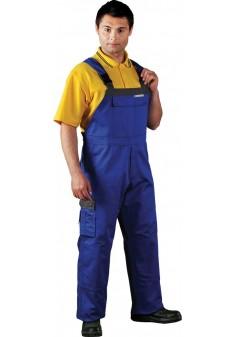Spodnie ochronne ogrodniczki Leber & Hollman LH-STALER niebieskie r. 48 - 62