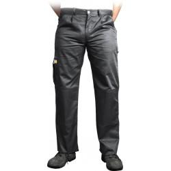 Spodnie ochronne do pasa Leber & Hollman VOBSTER czarne r. 25 - 110