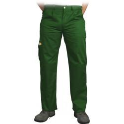 Spodnie ochronne do pasa Leber & Hollman VOBSTER zielone r. 25 - 110