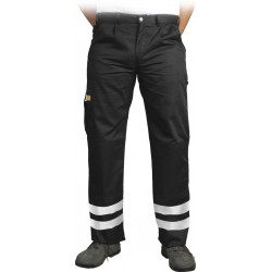 Spodnie ochronne do pasa pasy odblaskowe Vizlite LH-VOBSTER_X r. 48 - 62