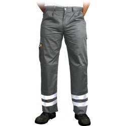 Spodnie ochronne do pasa pasy odblaskowe Vizlite LH-VOBSTER_X r. 48 - 62 szare