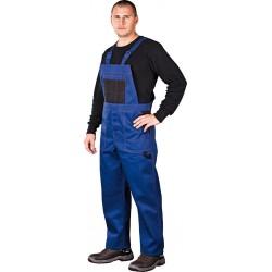Spodnie ochronne ogrodniczki Reis Multi Master MMS w kolorze niebieskim, dostępne w rozmiarze od 46 do 62.
