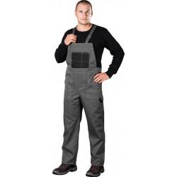 Spodnie ochronne ogrodniczki REIS Multi Master szaro-czarne r. 46 - 62