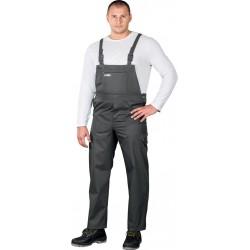 Spodnie robocze ogrodniczki REIS Master SMS szare r. 48 - 62