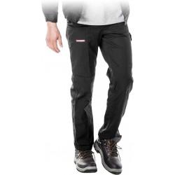 Spodnie ochronne do pasa REIS Master SPM czarne r. 48 - 62
