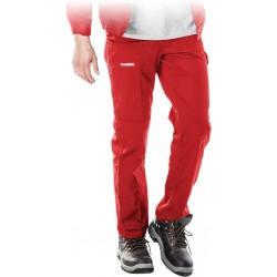Spodnie ochronne do pasa REIS Master SPM czerwone r. 48 - 62