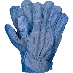 Rękawice ochronne drelichowe REIS RDP G rozmiar 10