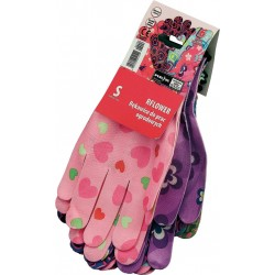 Rękawice ochronne nylon REIS RFLOWER MC r. S - M