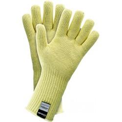 Rękawice ochronne dziane termiczne Kevlar JS RJ-KEVBA Y r. 8 - 10