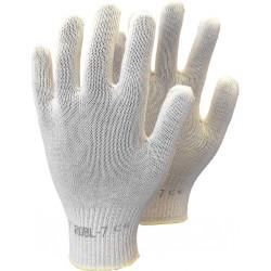 Rękawice ochronne wykonane z bawełny RJ-WKS BE r. 6 - 10