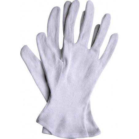 Rękawice ochronne bawełniane RWKB W r. 7 - 10