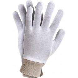 Rękawice ochronne bawełniane RWKSB W r. 7 - 10