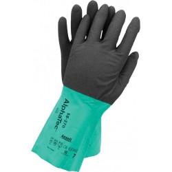 Rękawice antystatyczne ochronne AlphaTec® RAALPHAT58-270 B r. 7 - 11