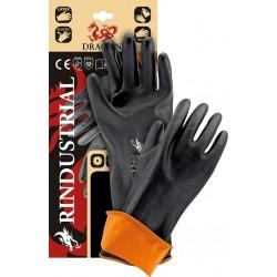 Rękawice ochronne z gumy DRAGON RINDUSTRIAL BP rozmiar 11 (35/45cm)