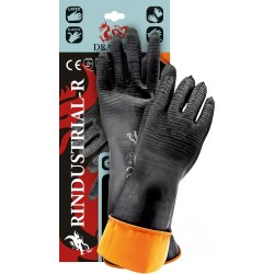 Rękawice robocze z gumy DRAGON RINDUSTRIAL-R BP R. 11 (35/60CM)