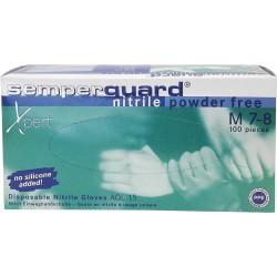 Rękawice nitrylowe SEMPERGUARD XPERT r. S - XL